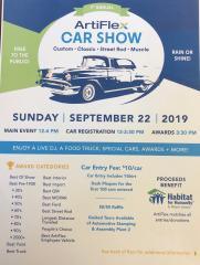 Artiflex Car Show - Habitat Benefit