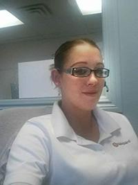 Jennifer Hymas, Receptionist/Customer Service