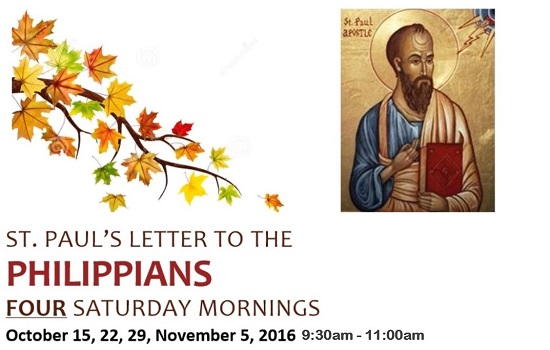 St. Paul's Letter to the Philippians!