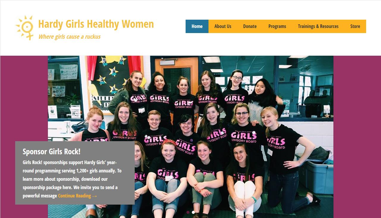 Hardy Girls, Healthy Women