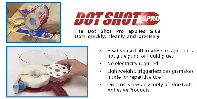 Glue Dots Dot Shot Pro