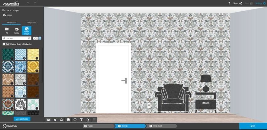 Custom Wallpaper for Interior Designers from Accuprint