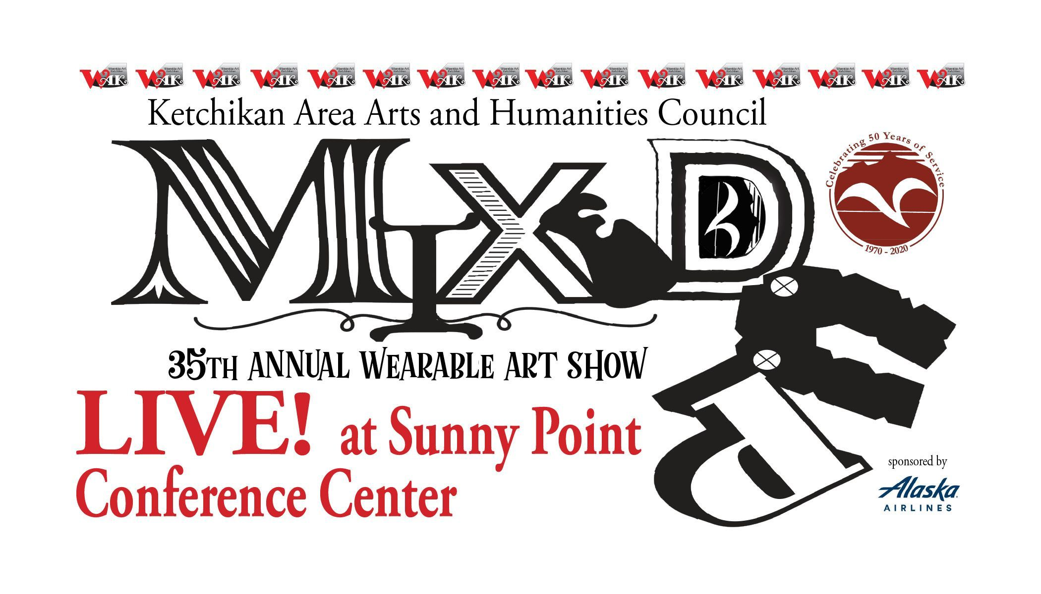 """Mixed Up"" the 35th Annual Wearable Art Show LIVE at the Sunny Point Conference Center SOLD OUT!"