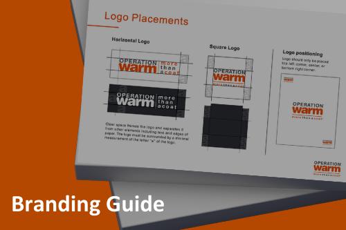 Operation Warm Branding Guide
