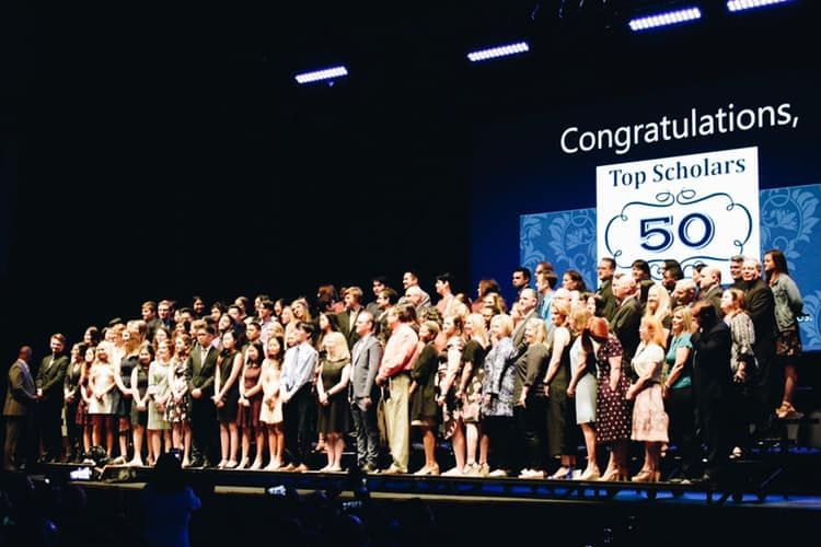 Top 50 Academic Recognition