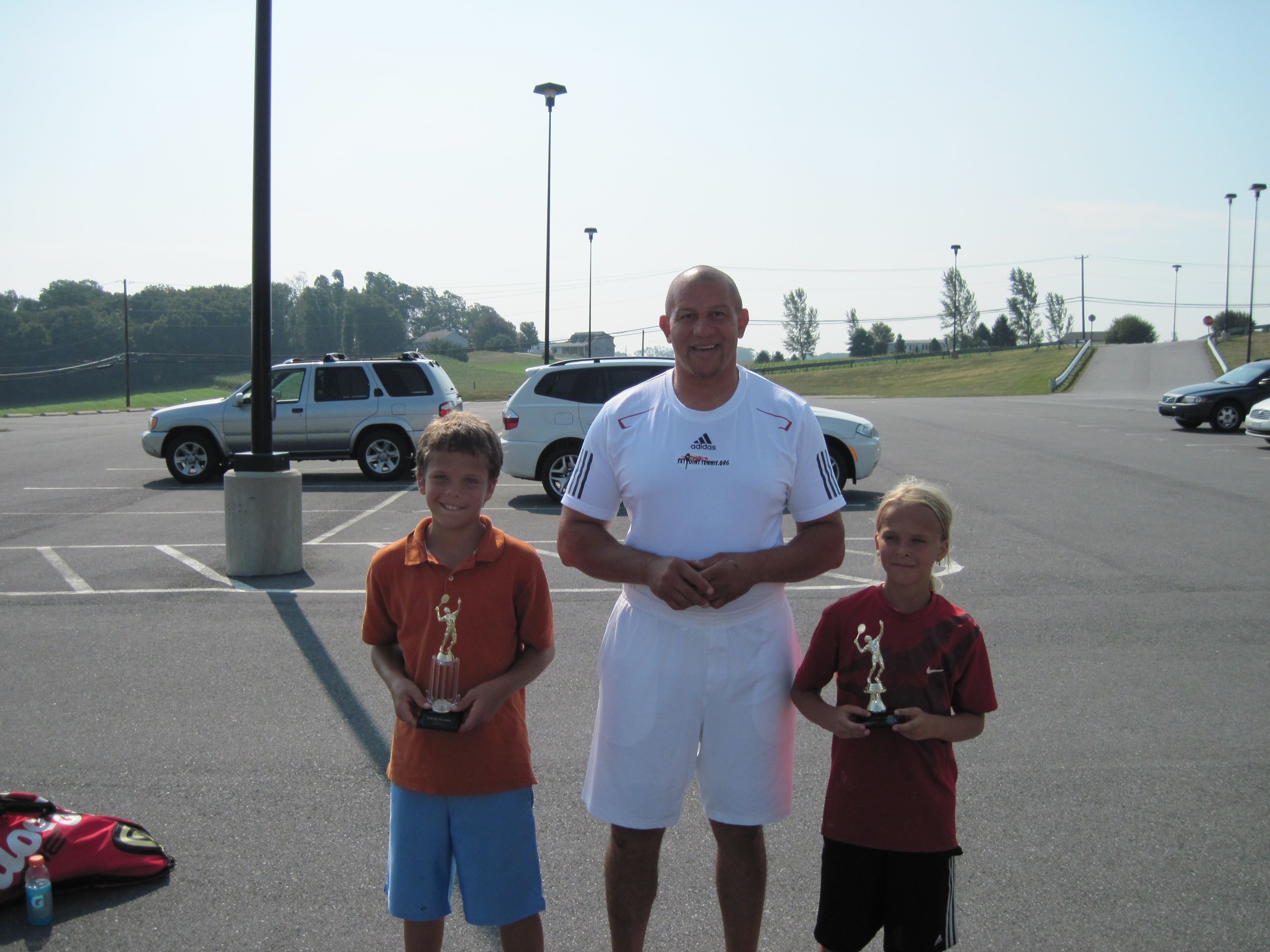 Set Point Tennis Boys 12 Champion and Runnerup