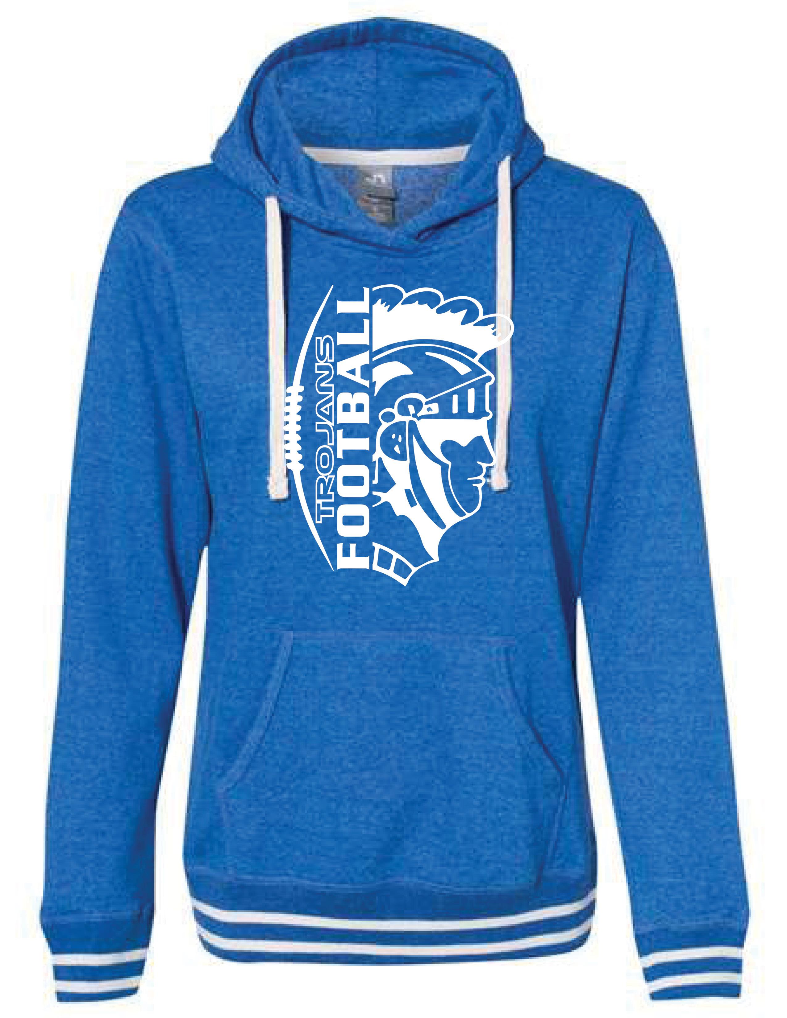 J. America - Women's Hooded Sweatshirt - (TROJAN)