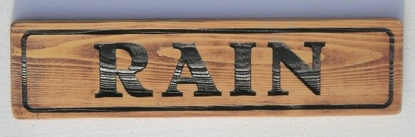P25426 - Uncoated Cedar Horse Stall Sign