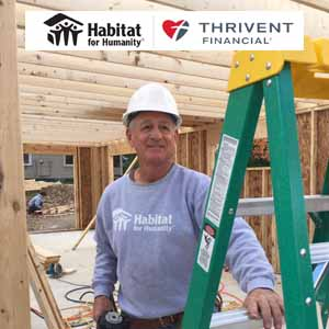 Thrivent Faith Build Grants Awarded Throughout U.S. in 2019