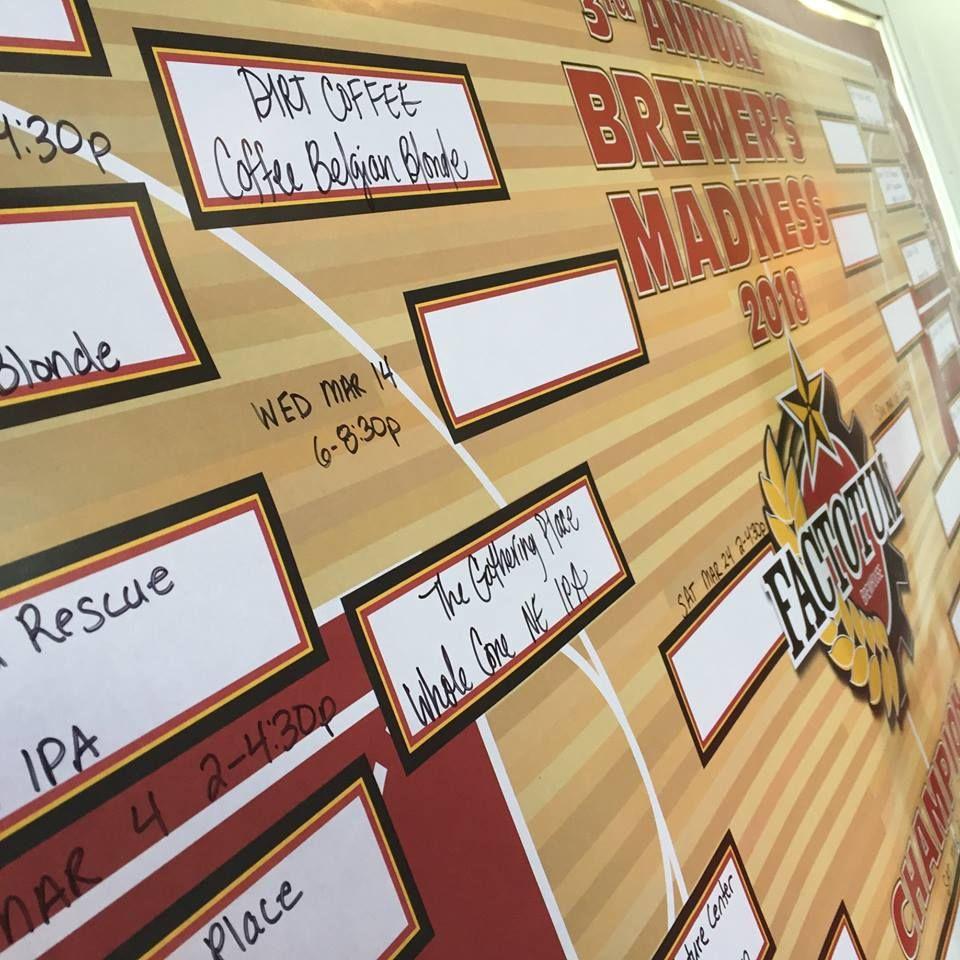 The Gathering Place's New England IPA advances to the second round of Brewer's Madness