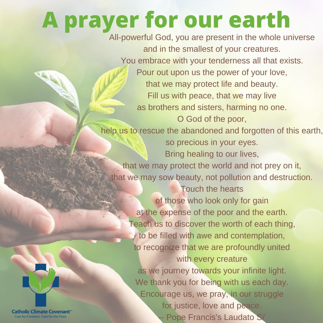 Earth Day Prayer