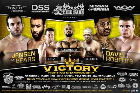 Victory Fighting Championship Partners with SONE for March 30th Event