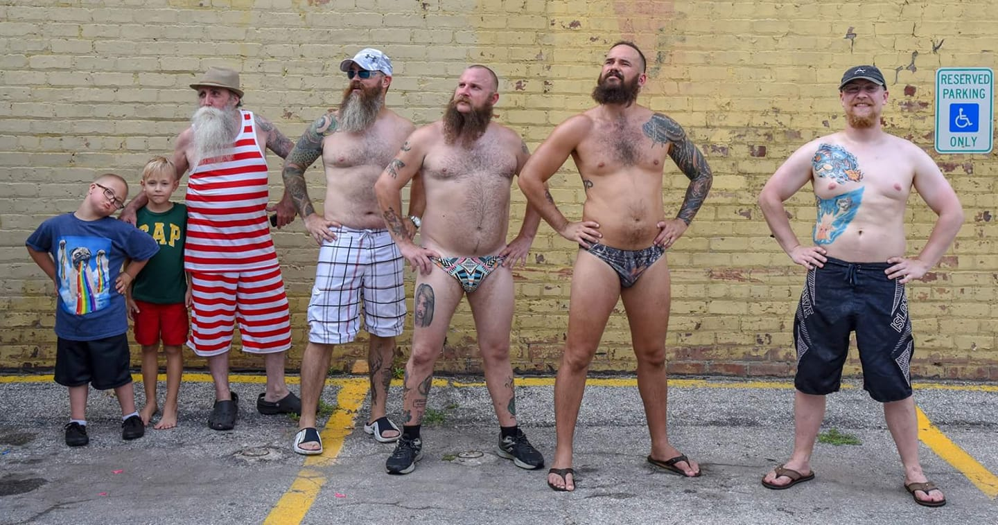 Annual Bearded Car Wash for Charity
