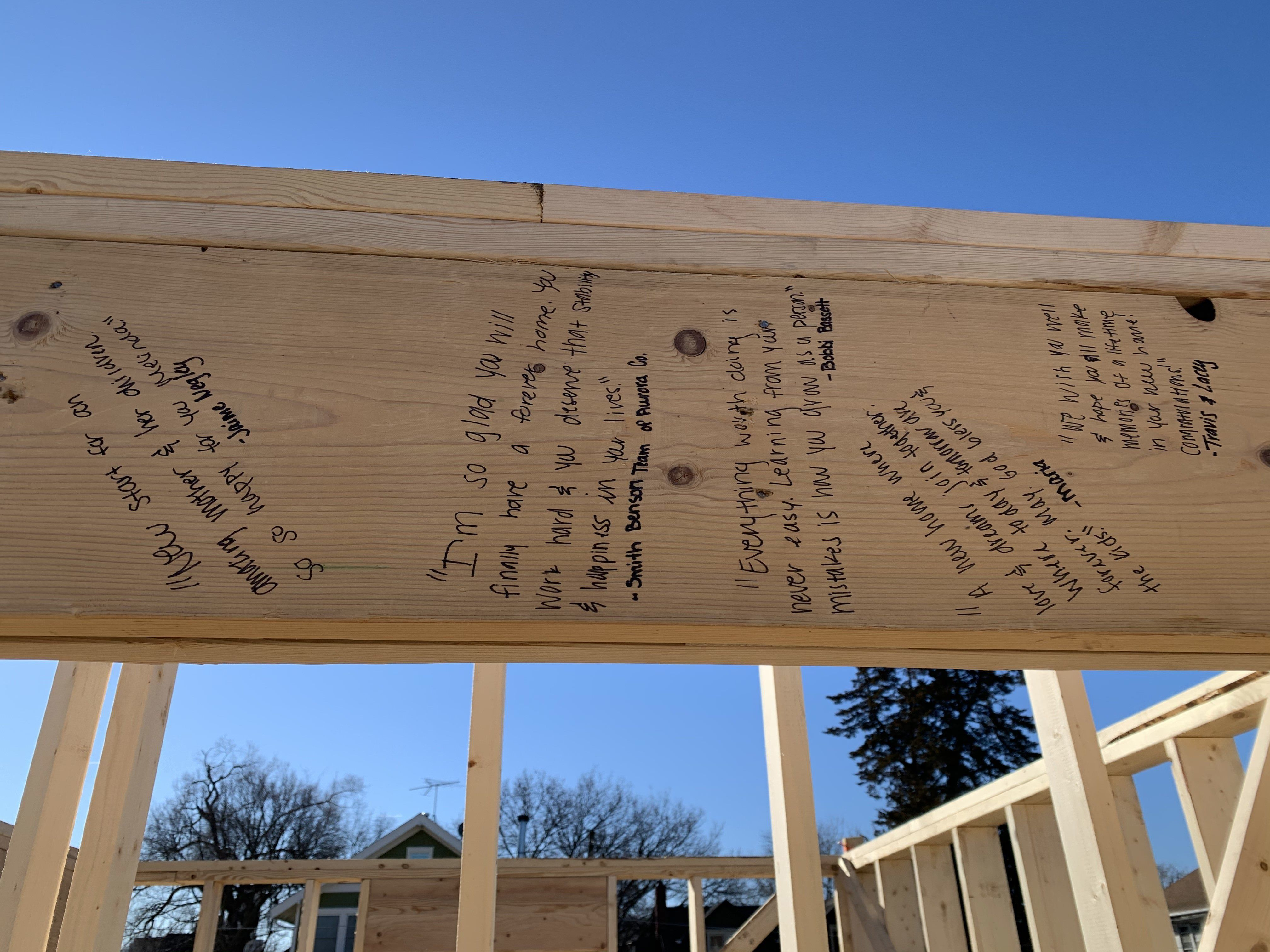 Information on applying for a Habitat House