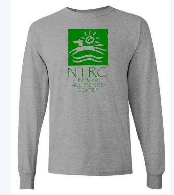 NTRC Supporter Long Sleeve Shirt- Extra Large