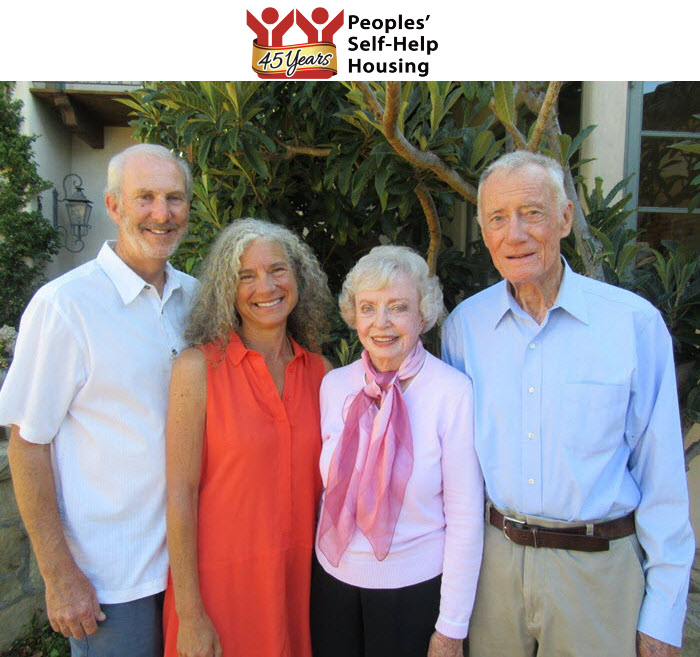Peoples' Self-Help Housing Announces Honorary Committee Co-Chairs for 45th Anniversary Gala, Auction
