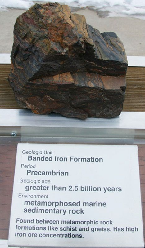 Banded Iron Formation - Precambrian