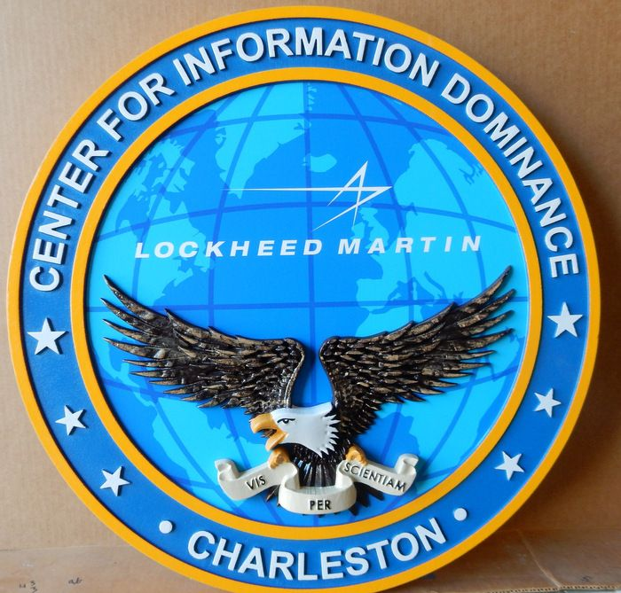 V31177 - Center for Information Dominance Plaque