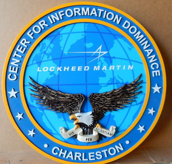 V31177 - Center for Information Dominance Plaque