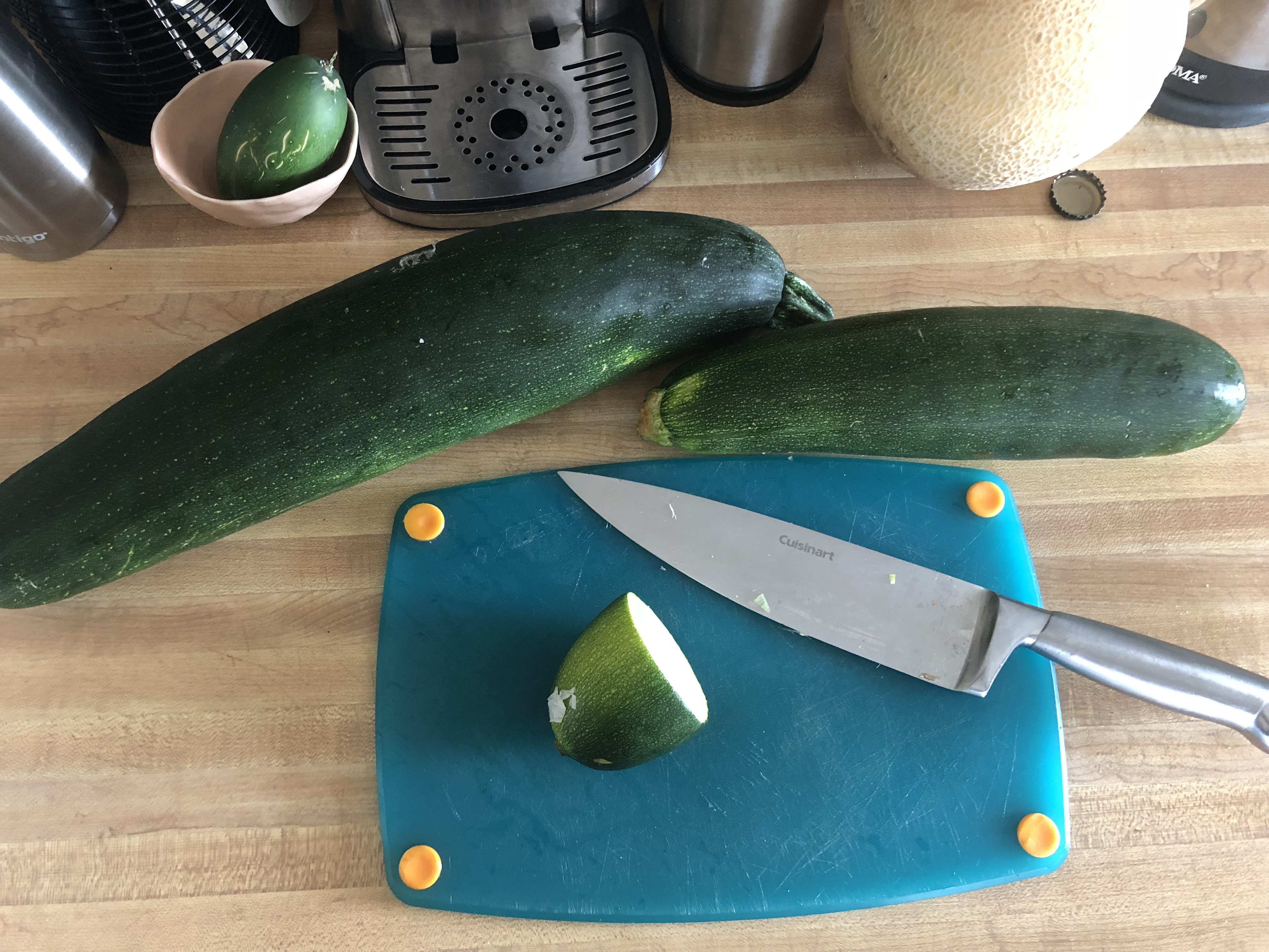 Summer of Zucchini - July 2018
