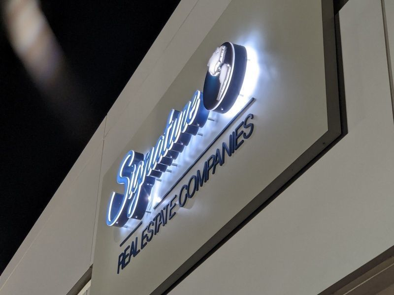 Commercial Signs for Business - Side Lite Channel Letters Sign by Sign Partners in Boca Raton, FL
