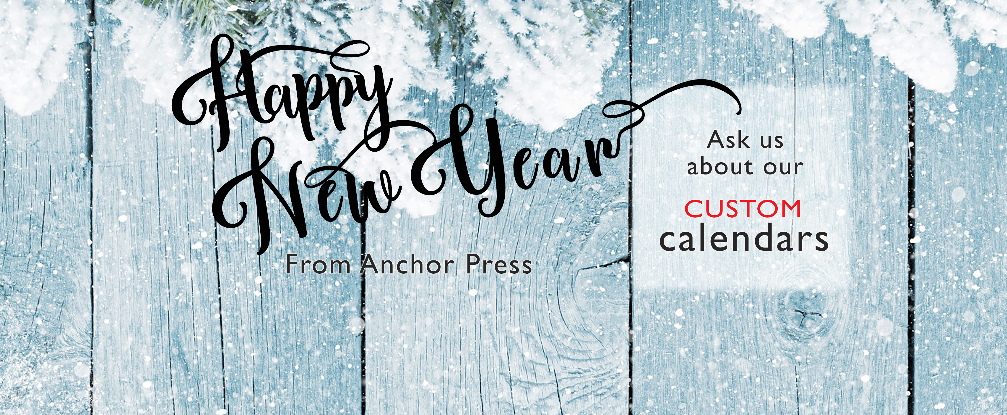 Happy New Year from Anchor Press