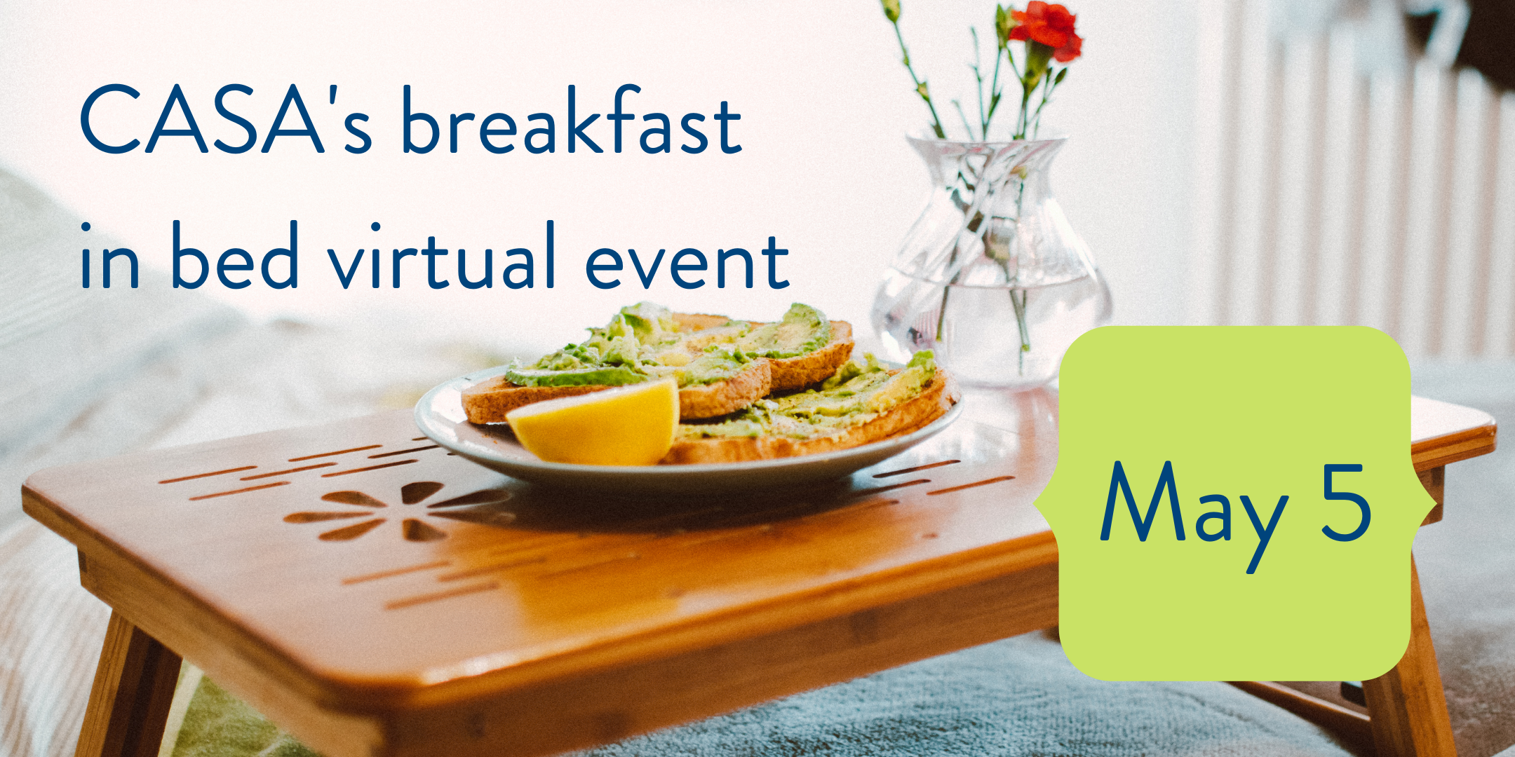 Join us for a virtual Community Awareness Breakfast!
