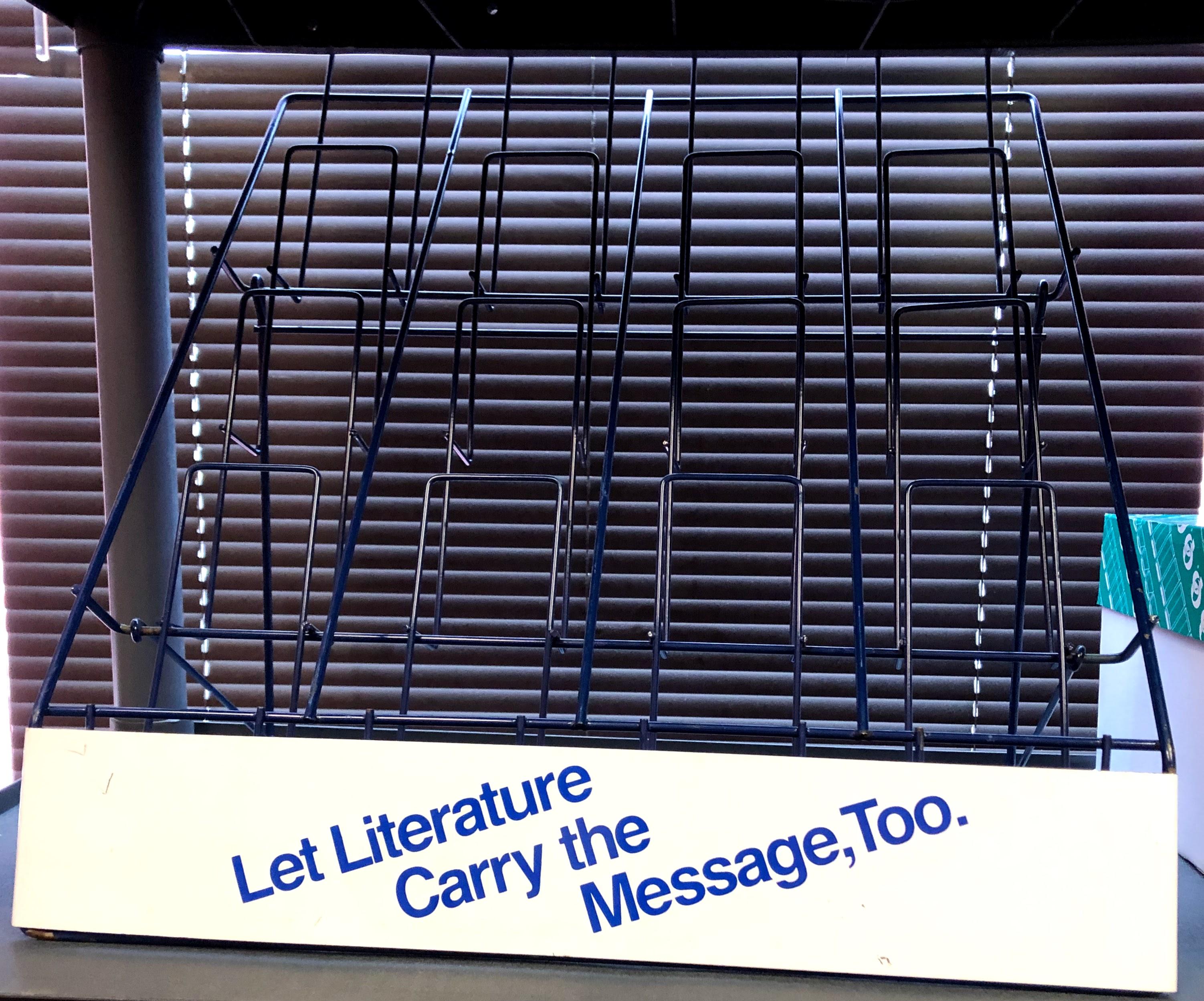 Literature Rack