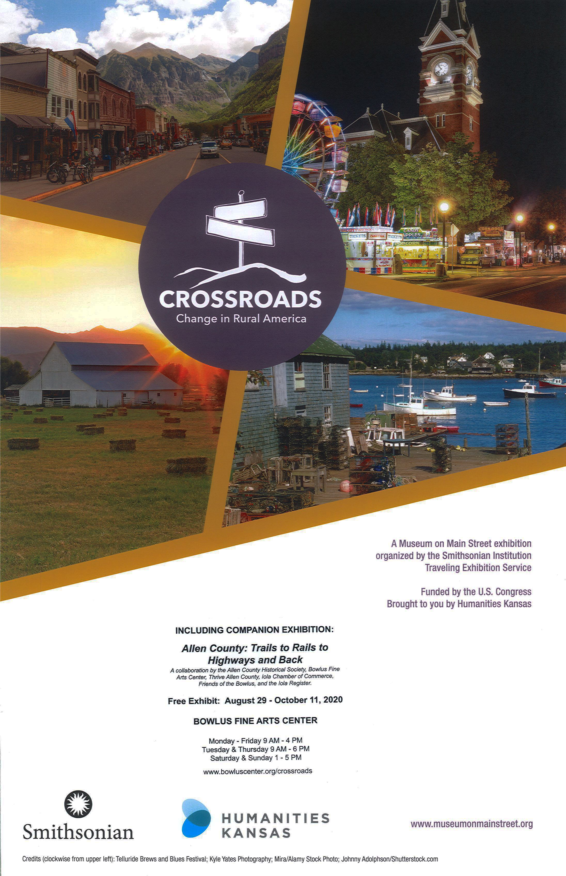 Smithsonian Crossroads: Change in Rural America Exhibit
