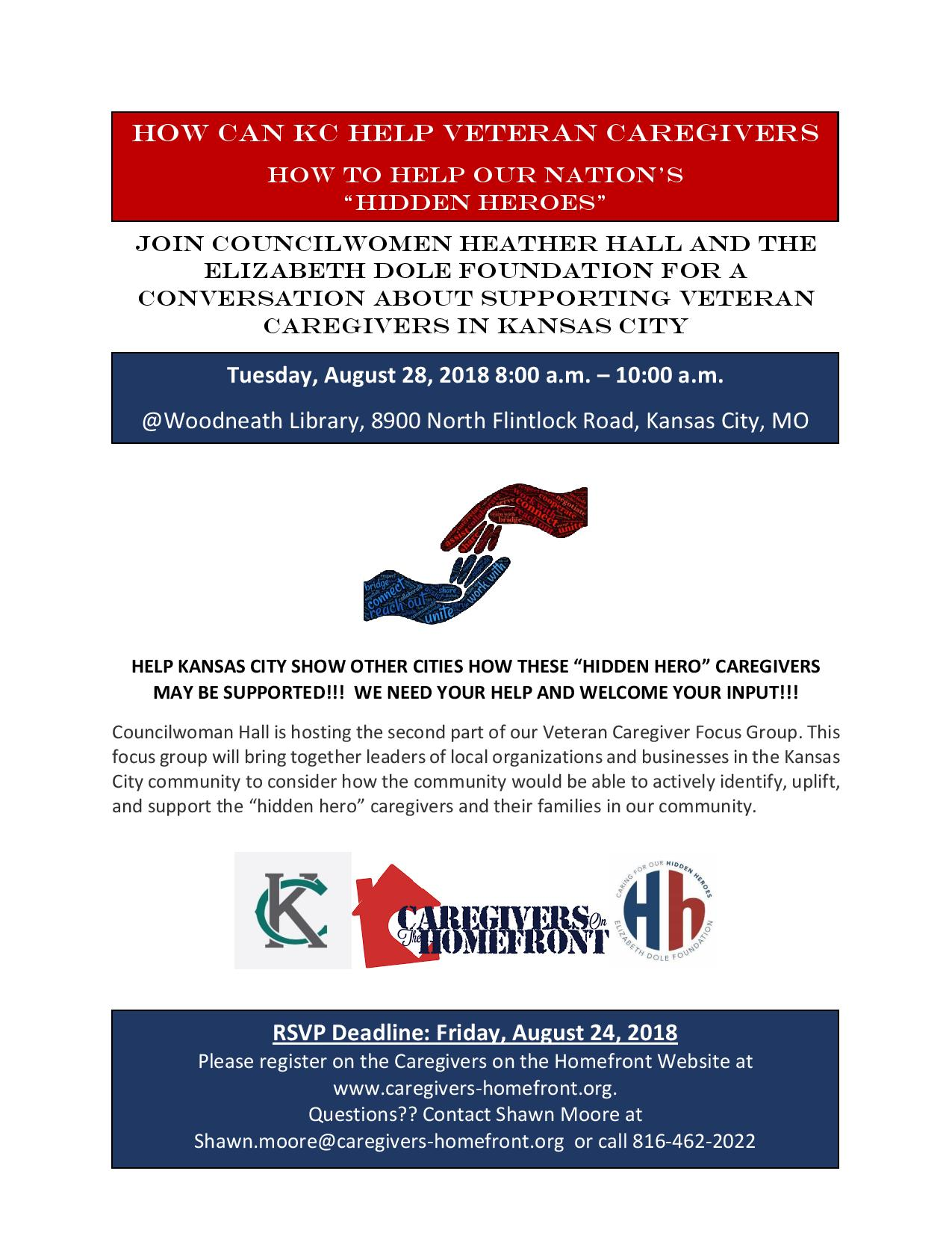 Veteran and Cargiver Focus Group and Panel