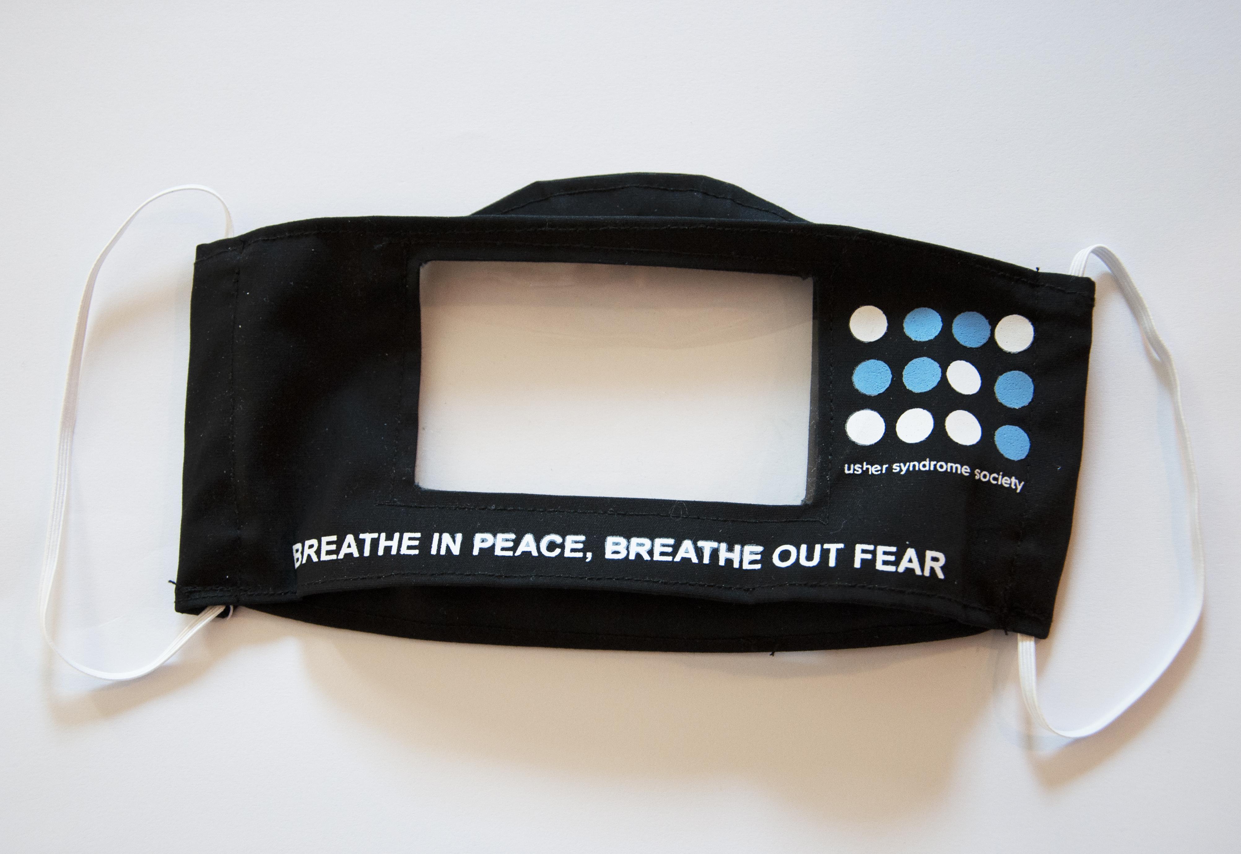 Breathe in Peace Face Mask