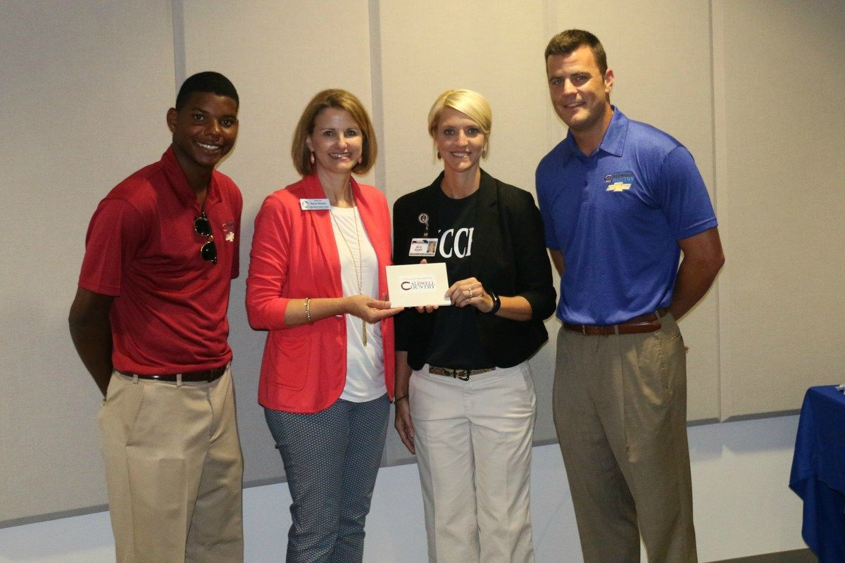 Caldwell Country Chevrolet Sponsors 1st-Year Teacher Program