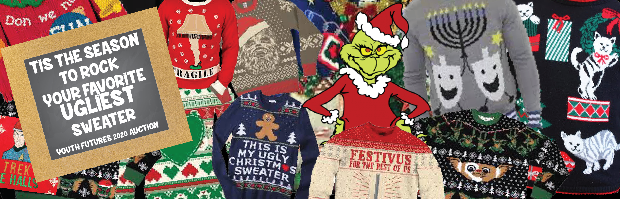 Youth Futures Ugly Sweater Annual Auction