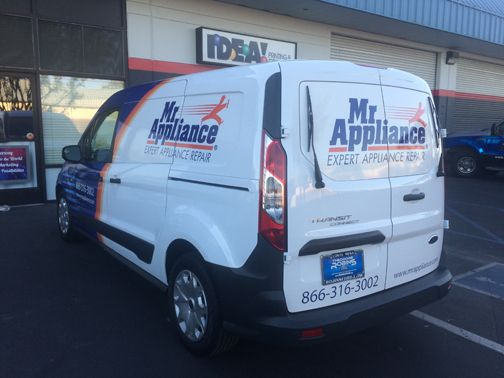 Van Wrap: Mr. Appliance