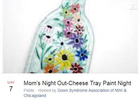 DSA Mom's Night Out - Cheese Tray Painting
