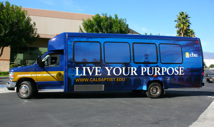 CBU Baptist Church Bus