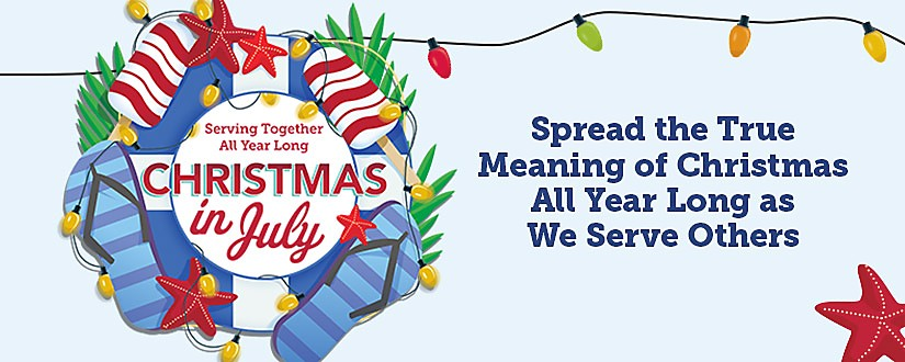 Merry Christmas In July Clipart.Good Samaritan Ministries Christmas In July
