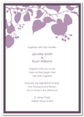 Flower bud wedding invitation | Kwik Kopy Design and Print Centre Halifax