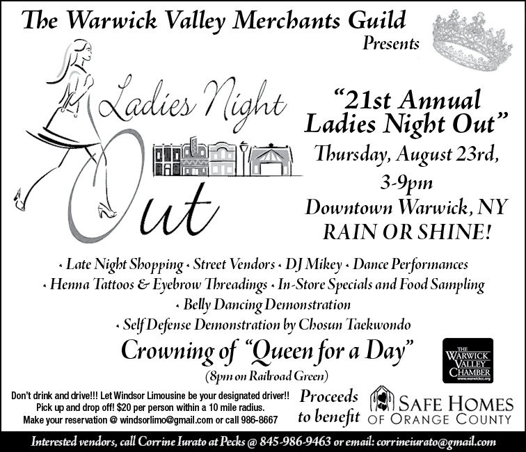 21st Annual 'Ladies Night Out' in Warwick