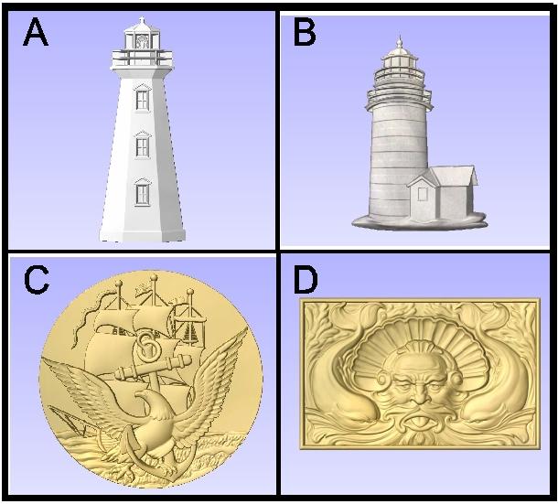 L22030 - 3-D Nautical Symbols