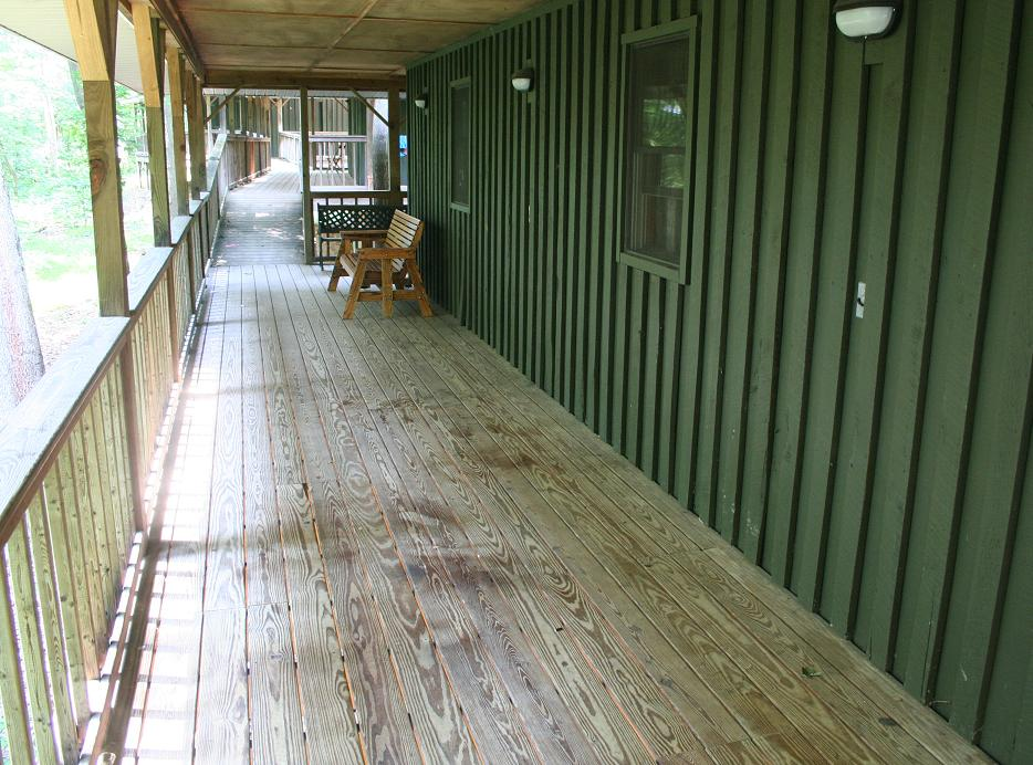 Ridge Village Cabin Porch