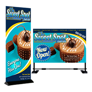 Banners & Trade Show Displays