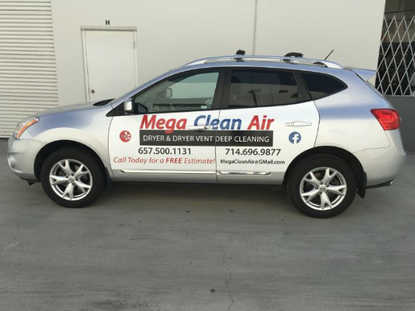 Budget Friendly Car Graphics in Fullerton