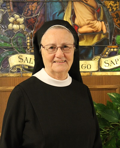 Sister of the Month: Sr. Gabrielle Marie Oestreich March 2016