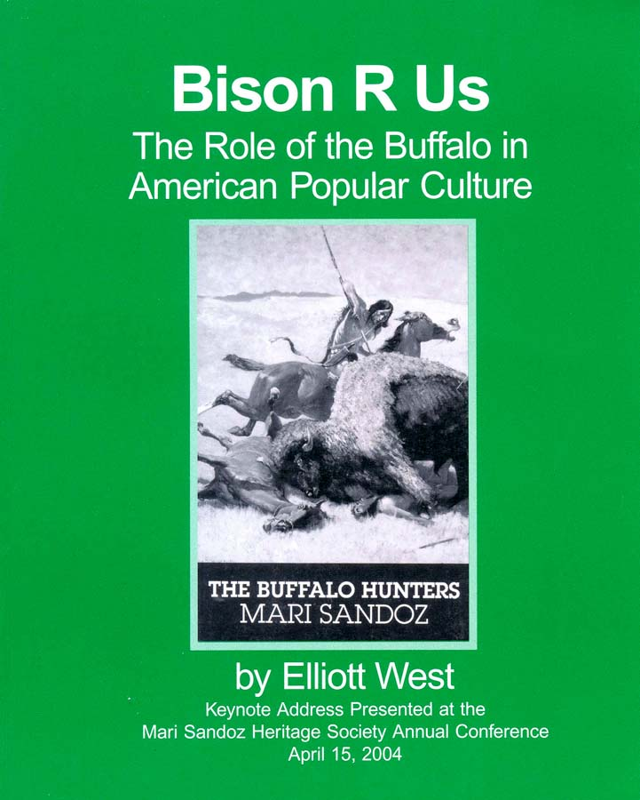 """Bison R Us"" The Role of the Buffalo in American Popular Culture"