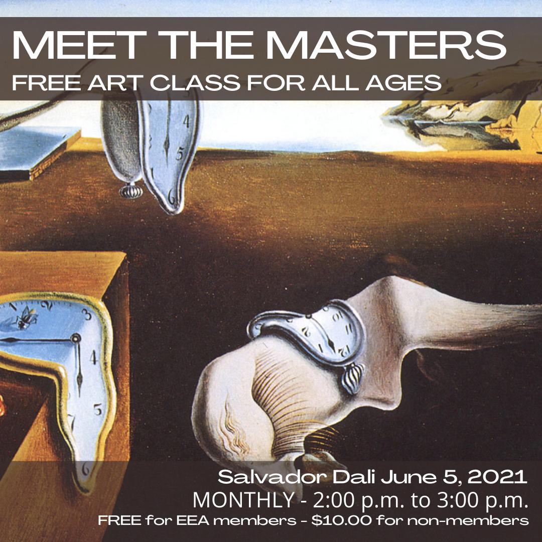 Meet the Masters FREE Art Class - Salvador Dali