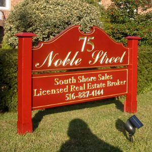 Freestanding Carved Signs