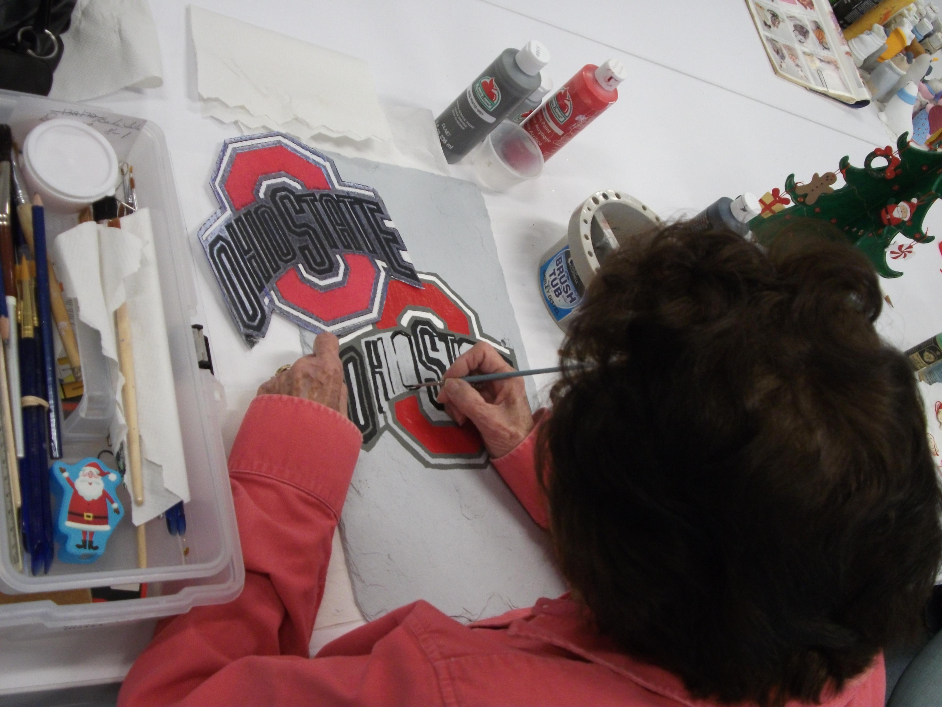 Go BUCKS! Art Project