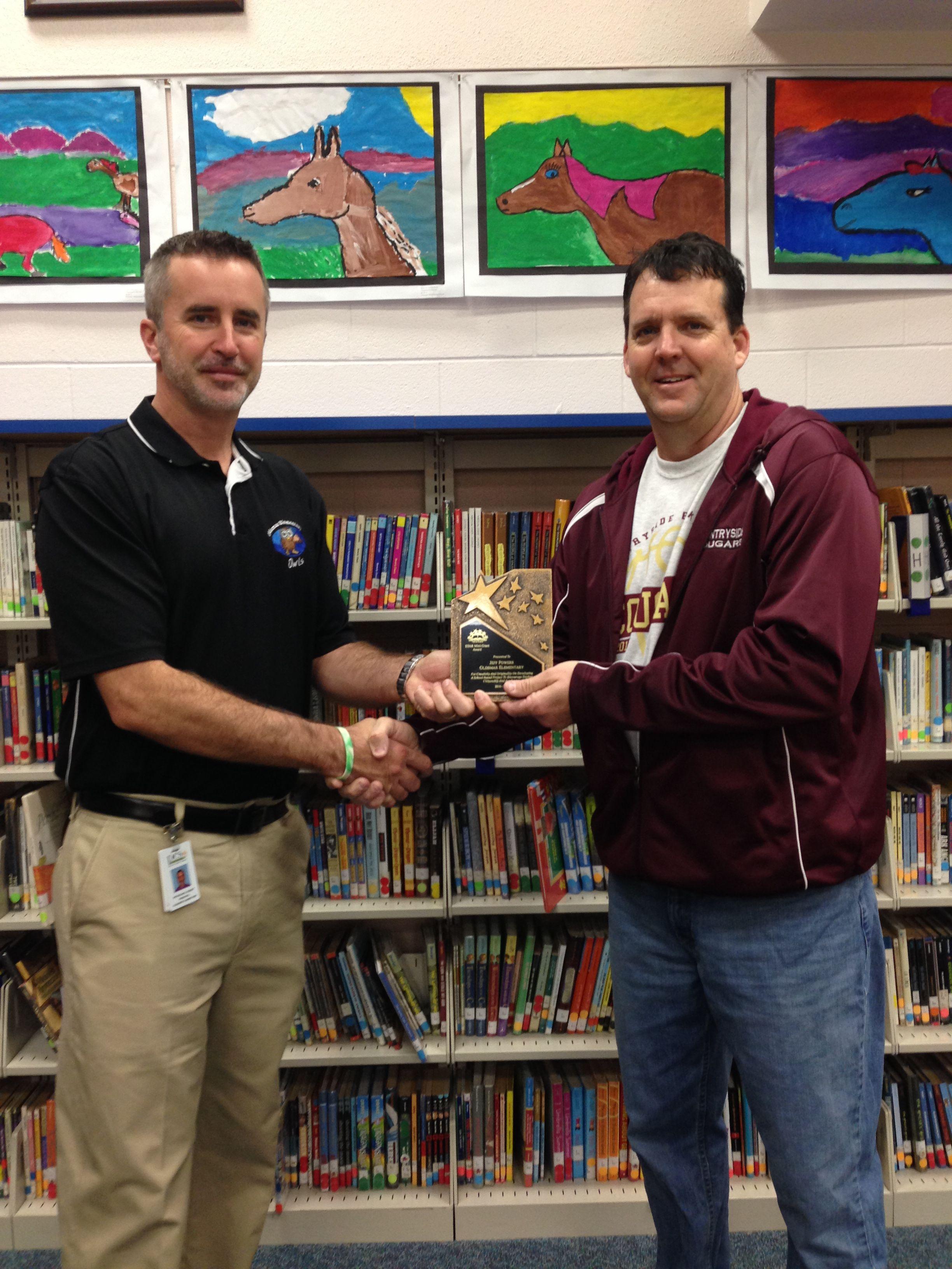 STAR Award Principal Recognition