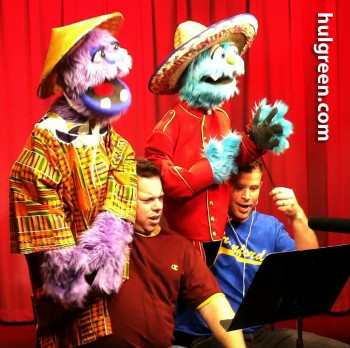 *  Read About Hulgreen Productions Puppet Characters